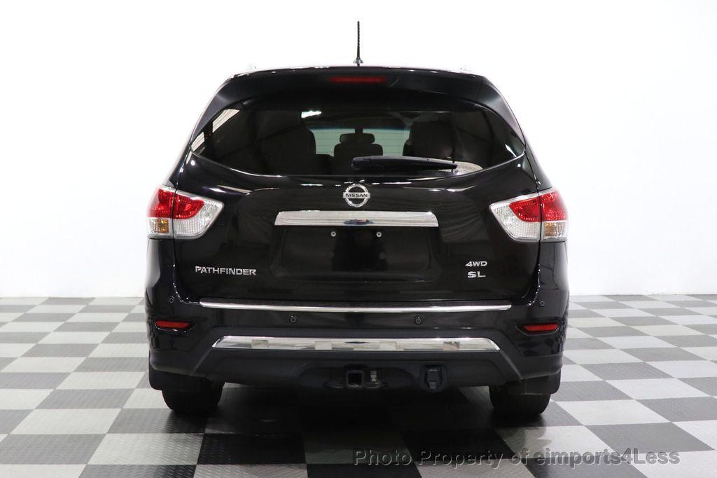2015 Nissan Pathfinder CERTIFIED PATHFINDER SL PREMIUM 4WD 7PASS BLIS CAM NAV BOSE - 18561282 - 17