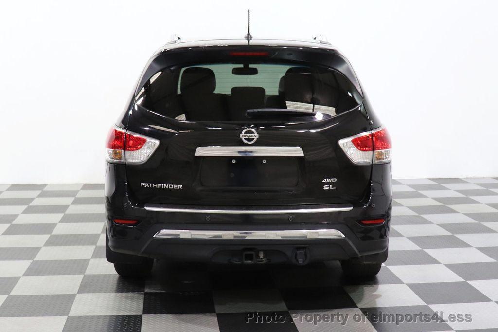 2015 Nissan Pathfinder CERTIFIED PATHFINDER SL PREMIUM 4WD 7PASS BLIS CAM NAV BOSE - 18561282 - 32