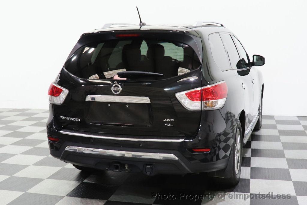 2015 Nissan Pathfinder CERTIFIED PATHFINDER SL PREMIUM 4WD 7PASS BLIS CAM NAV BOSE - 18561282 - 33