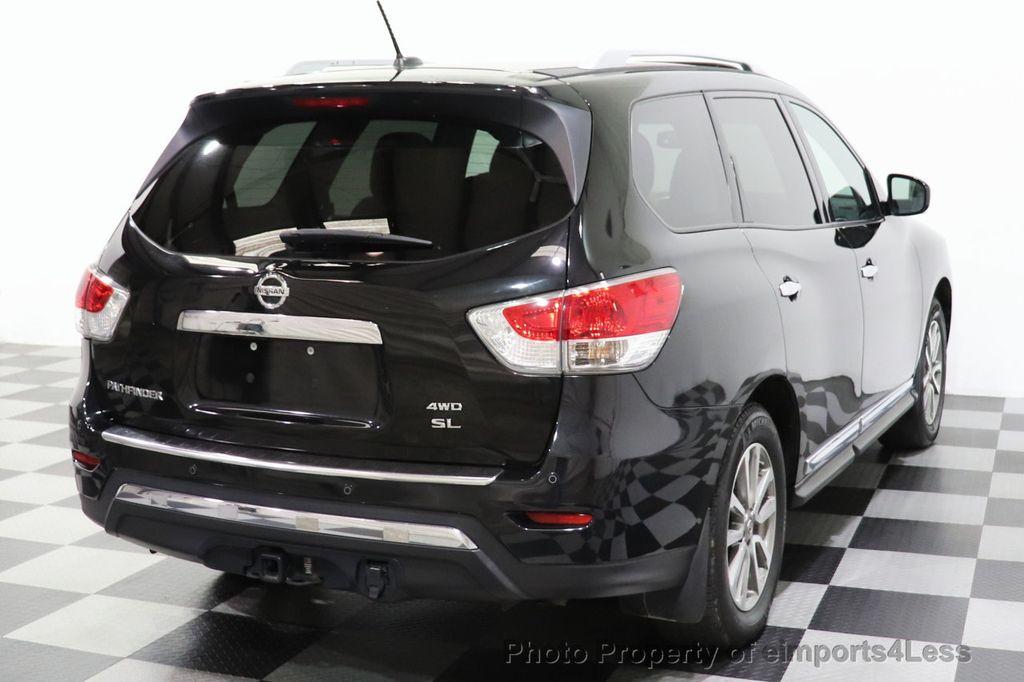 2015 Nissan Pathfinder CERTIFIED PATHFINDER SL PREMIUM 4WD 7PASS BLIS CAM NAV BOSE - 18561282 - 3
