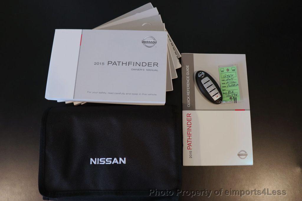 2015 Nissan Pathfinder CERTIFIED PATHFINDER SL PREMIUM 4WD 7PASS BLIS CAM NAV BOSE - 18561282 - 43
