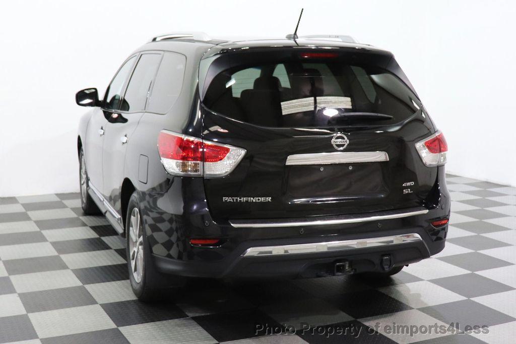 2015 Nissan Pathfinder CERTIFIED PATHFINDER SL PREMIUM 4WD 7PASS BLIS CAM NAV BOSE - 18561282 - 50