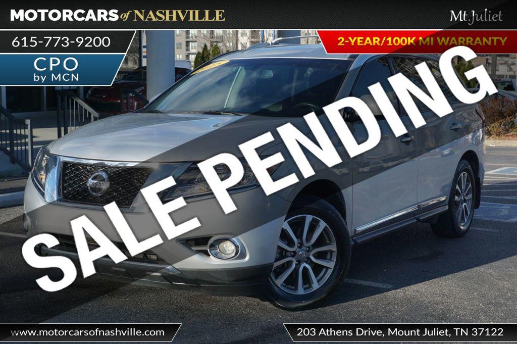 2015 Nissan Pathfinder SL w/Tech Pkg - 18657997 - 0