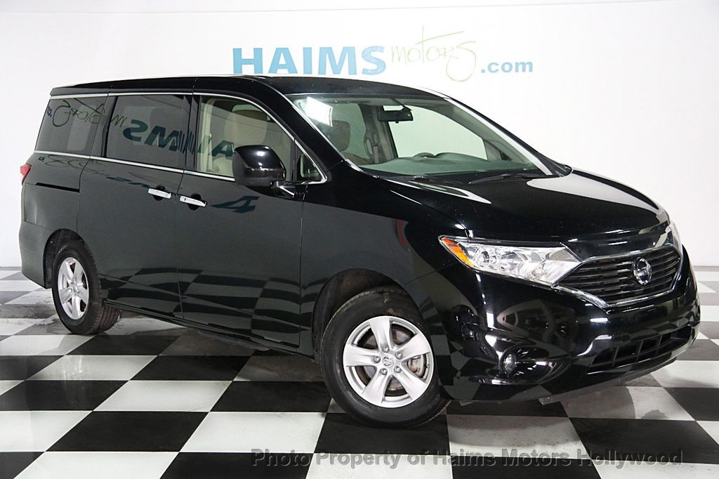 2015 used nissan quest 4dr s at haims motors hollywood serving fort lauderdale hollywood. Black Bedroom Furniture Sets. Home Design Ideas