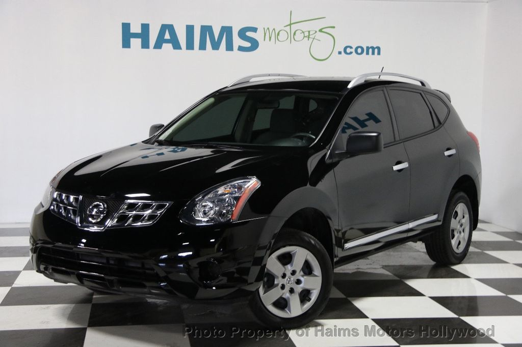 2015 used nissan rogue select fwd 4dr s at haims motors serving fort lauderdale hollywood. Black Bedroom Furniture Sets. Home Design Ideas
