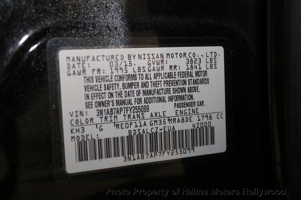 2015 Nissan Sentra  - 17724913 - 30
