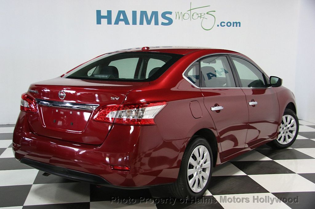 2015 used nissan sentra 4dr sedan i4 cvt sv at haims motors serving fort lauderdale hollywood. Black Bedroom Furniture Sets. Home Design Ideas