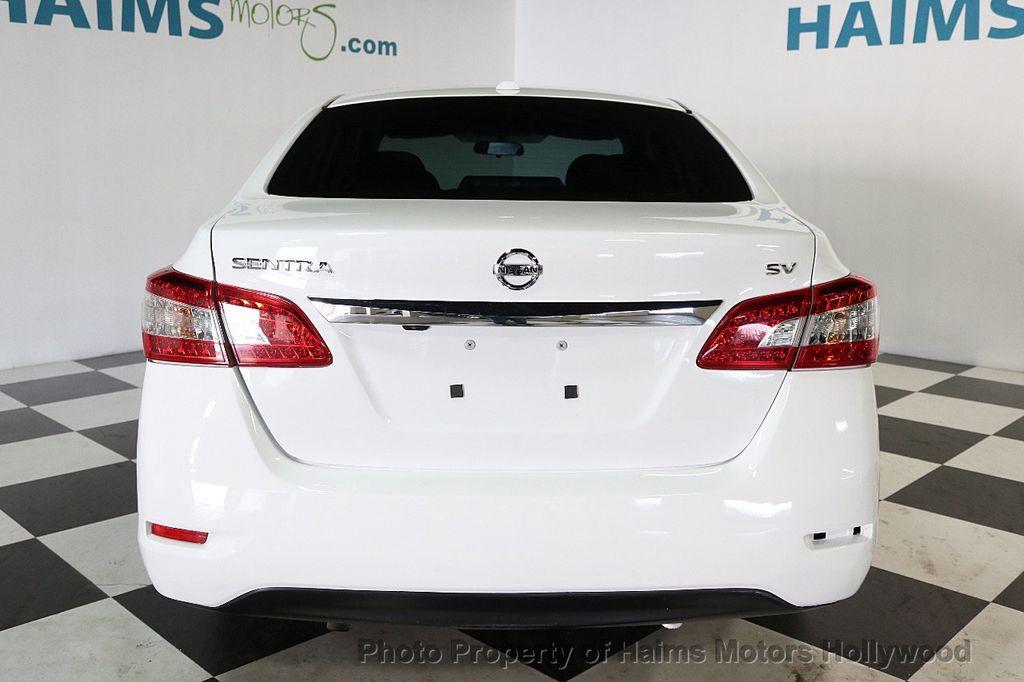 2015 Nissan Sentra 4dr Sedan I4 CVT SV - 17651865 - 5