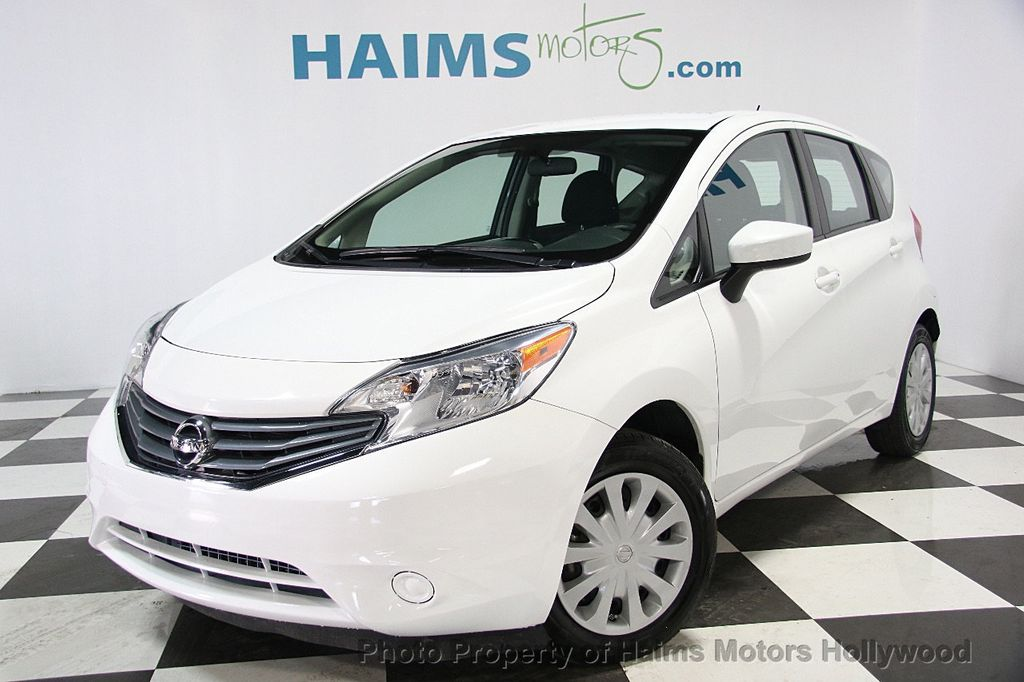 2015 used nissan versa note 5dr hatchback cvt 1 6 sv at haims motors serving fort lauderdale. Black Bedroom Furniture Sets. Home Design Ideas