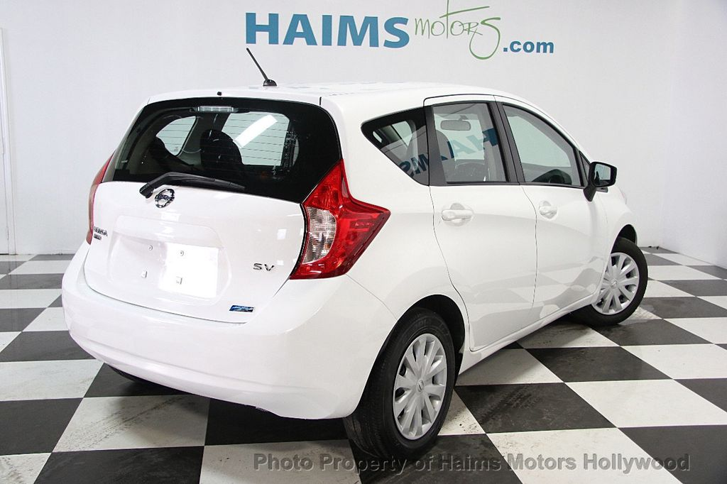 2015 used nissan versa note 5dr hatchback cvt 1 6 sv at haims motors hollywood serving fort. Black Bedroom Furniture Sets. Home Design Ideas