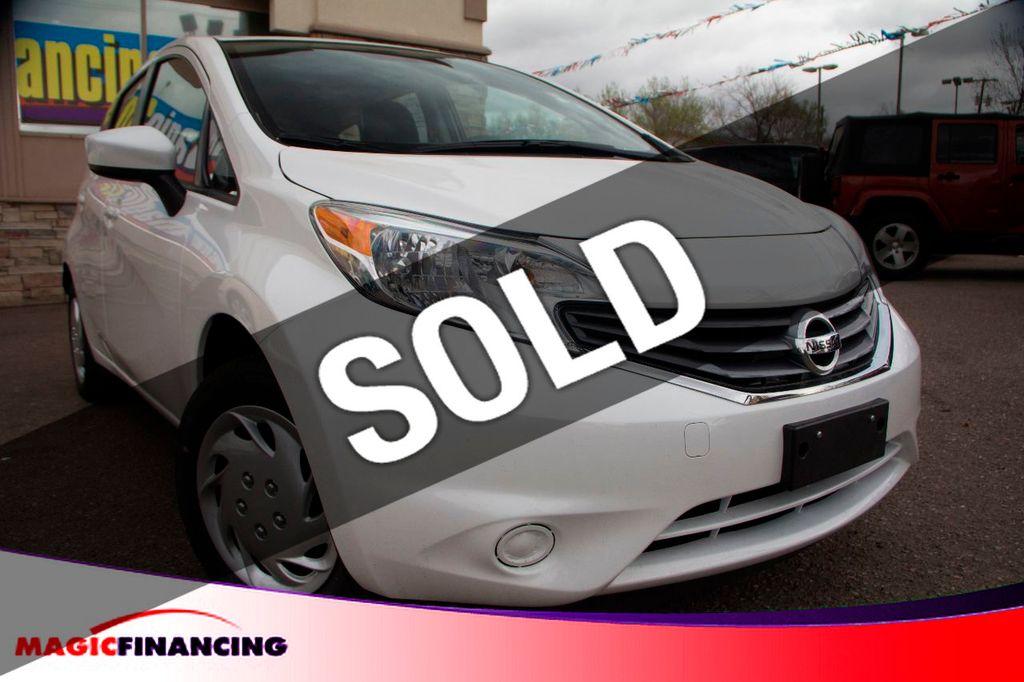 Used Nissan Versa >> 2015 Used Nissan Versa Note 5dr Hatchback Manual 1 6 S At Magic Financing Serving Denver Co Iid 14987077