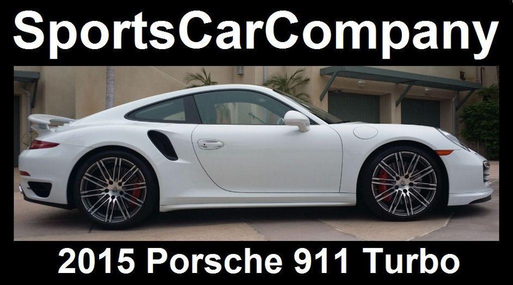 2015 Porsche 911 911 TURBO - 16729764 - 2