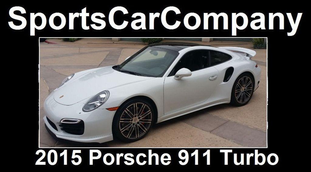 2015 Porsche 911 911 TURBO - 16729764 - 3