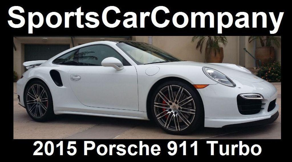 2015 Porsche 911 911 TURBO - 16729764 - 4