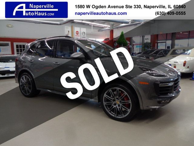 2015 Used Porsche Cayenne Awd 4dr Turbo At Naperville Auto