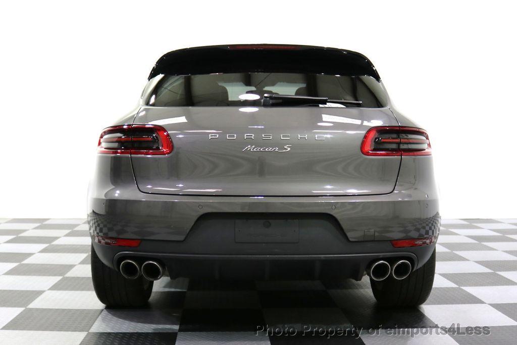 2015 Porsche Macan CERTIFIED MACAN S AWD CAMERA PANORAMA NAVI - 17696958 - 31