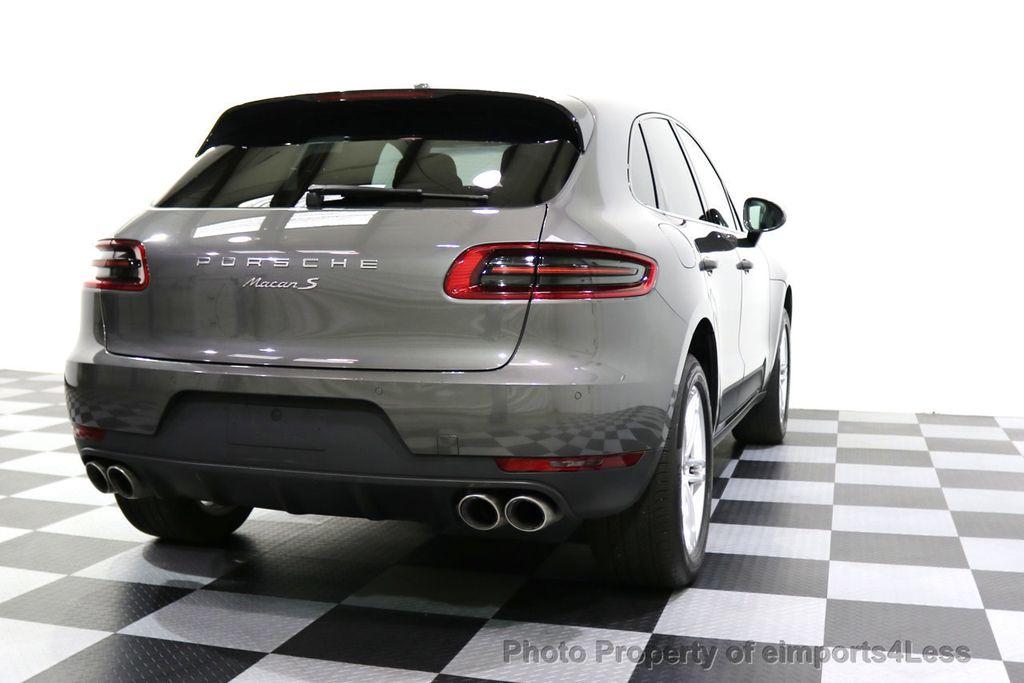 2015 Porsche Macan CERTIFIED MACAN S AWD CAMERA PANORAMA NAVI - 17696958 - 32