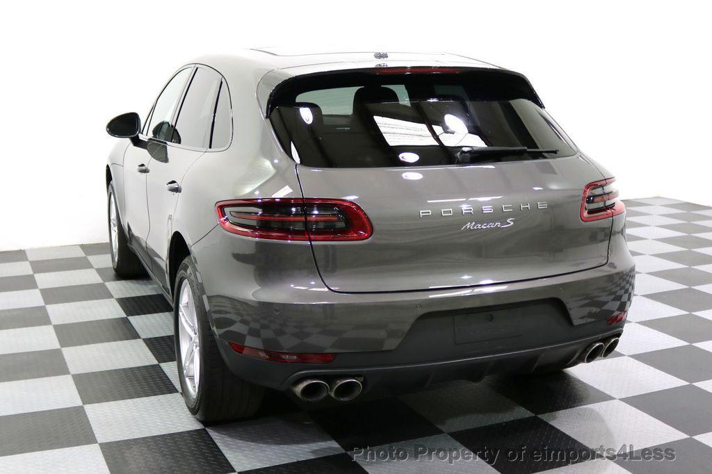 2015 Porsche Macan CERTIFIED MACAN S AWD CAMERA PANORAMA NAVI - 17696958 - 47