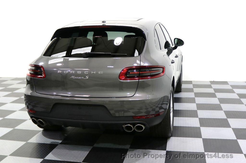 2015 Porsche Macan CERTIFIED MACAN S AWD CAMERA PANORAMA NAVI - 17696958 - 48