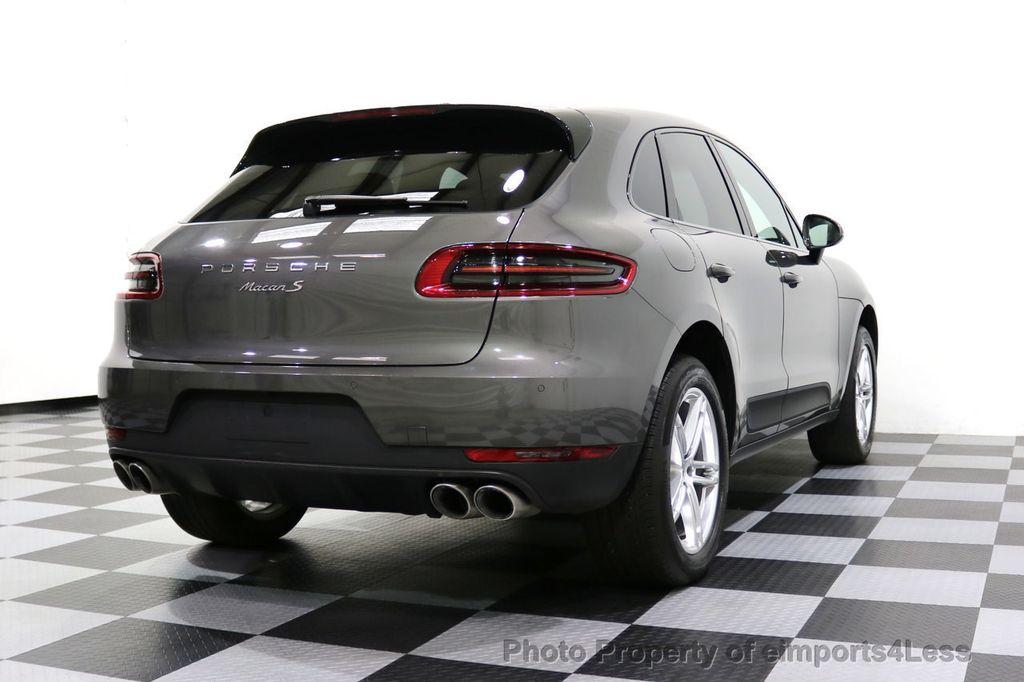 2015 Porsche Macan CERTIFIED MACAN S AWD CAMERA PANORAMA NAVI - 17696958 - 55