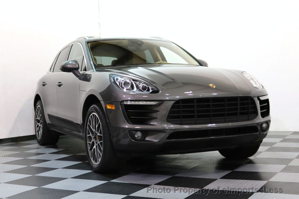 2015 Used Porsche Macan CERTIFIED MACAN S AWD Lane Keep BOSE NAVI at ...