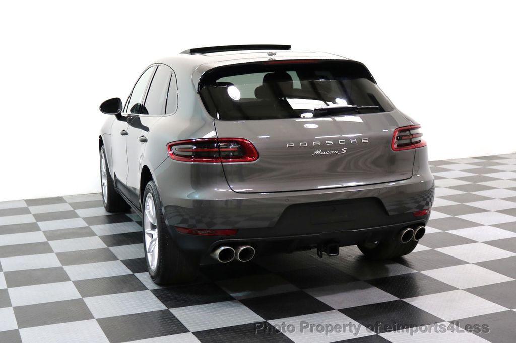 2015 Porsche Macan CERTIFIED MACAN S AWD PANORAMA CAMERA 20s NAVI - 17425260 - 16
