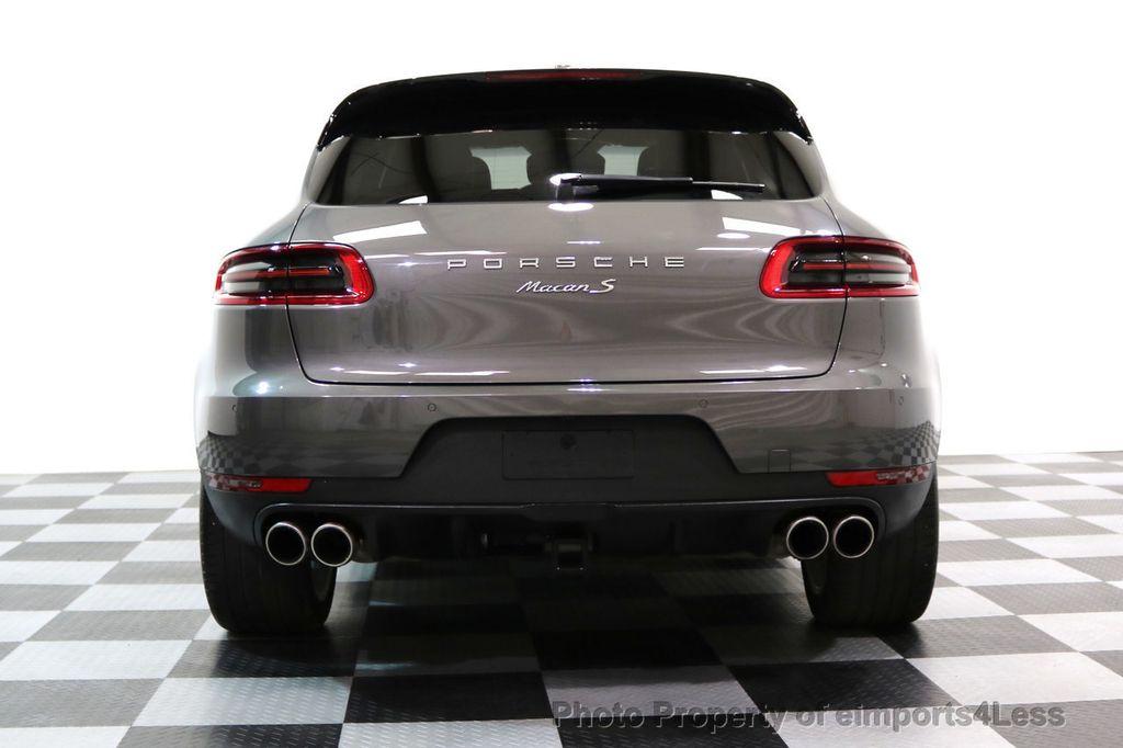 2015 Porsche Macan CERTIFIED MACAN S AWD PANORAMA CAMERA 20s NAVI - 17425260 - 17