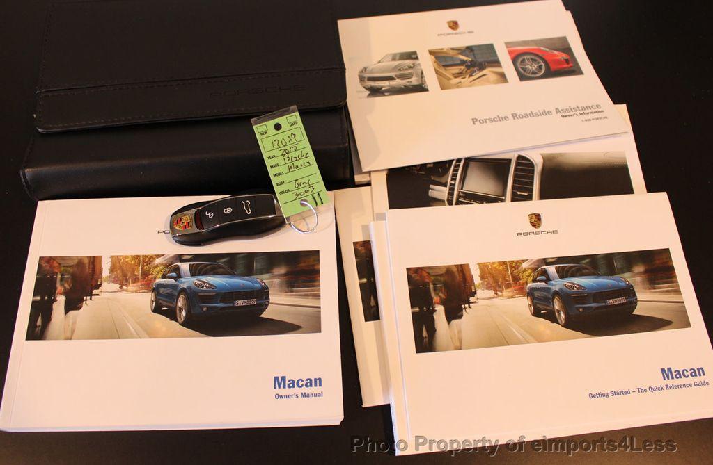 2015 Porsche Macan CERTIFIED MACAN S AWD PANORAMA CAMERA 20s NAVI - 17425260 - 44