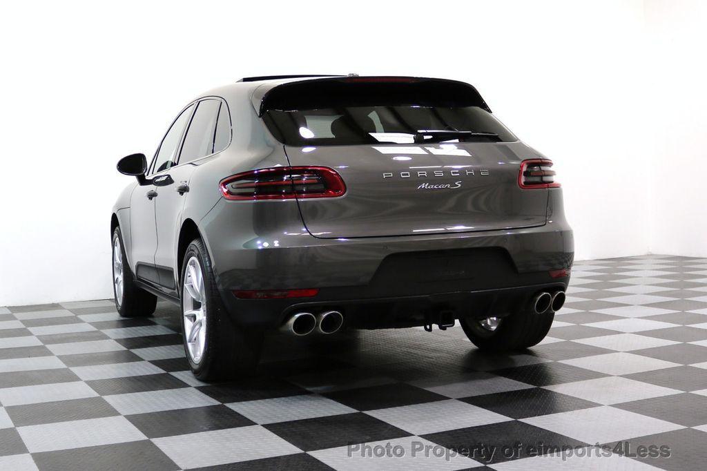 2015 Porsche Macan CERTIFIED MACAN S AWD PANORAMA CAMERA 20s NAVI - 17425260 - 52