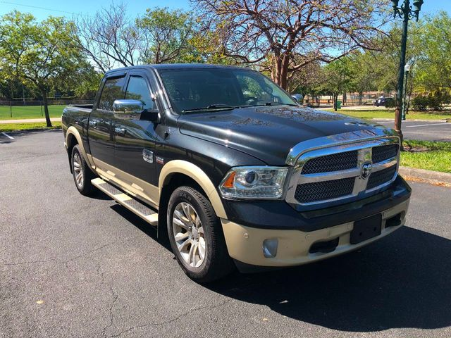 "2015 Ram 1500 4WD Crew Cab 140.5"" Laramie Longhorn - Click to see full-size photo viewer"