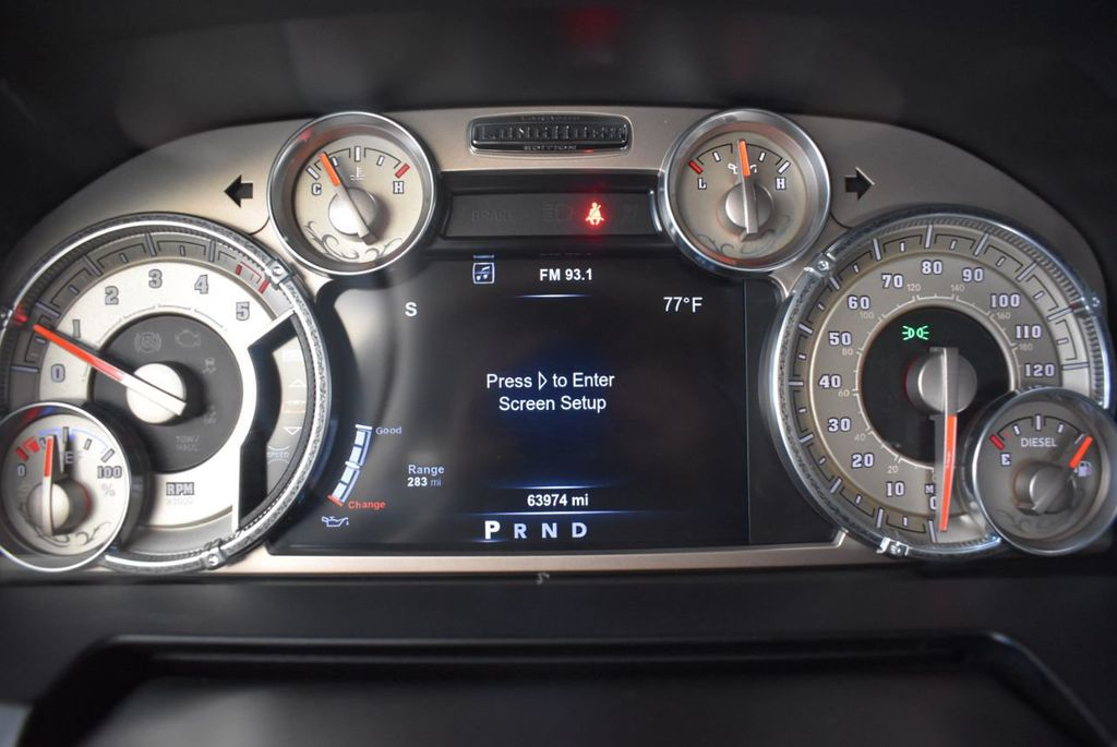 "2015 Ram 1500 Turbo Diesel w 5"" Rough Country Lift Kit 20' Black Rhino Wheels - 18171091 - 14"