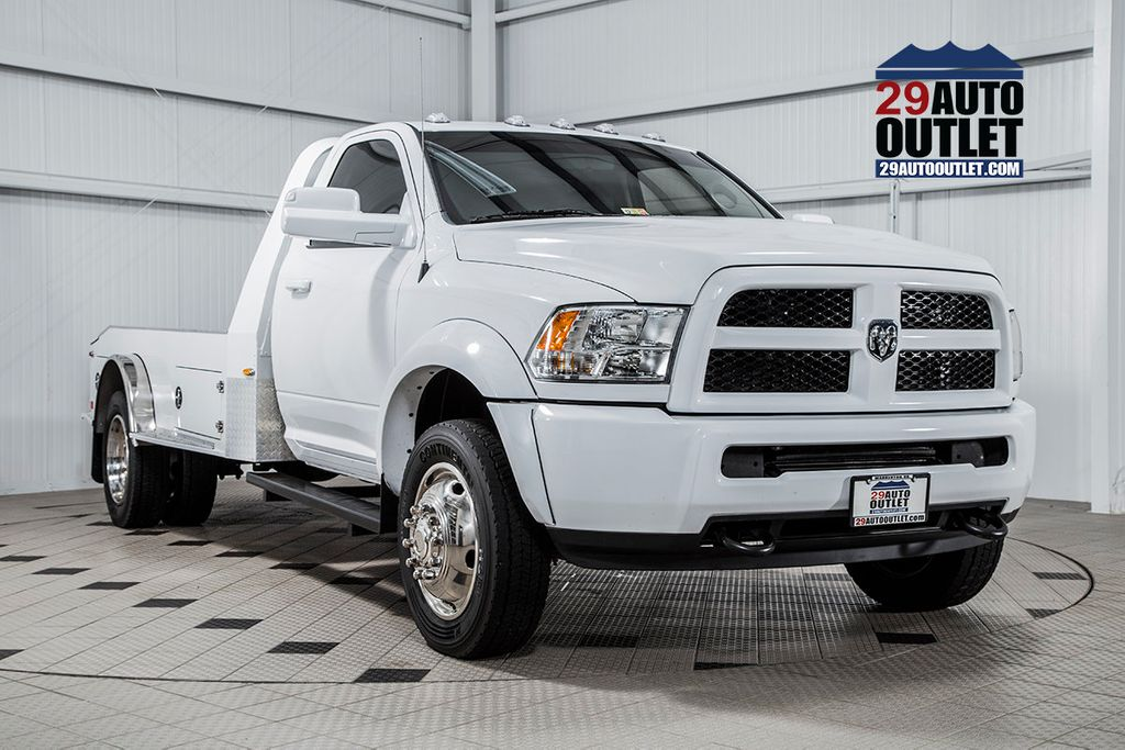 Dodge Ram Cummins For Sale >> 2015 Used Ram 4500 RAM 4500 * 6.7 CUMMINS * MANUAL * HAULER BODY * 1 OWNER at Country Commercial ...
