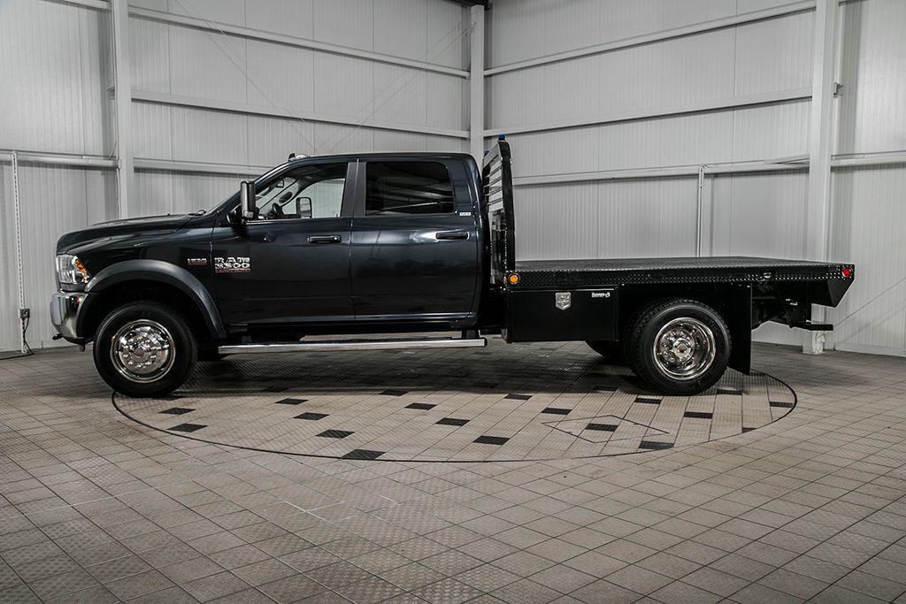2015 Used Ram 5500 5500 Crew Cab 4x4 6 4 Hemi New 10 Flatbed W