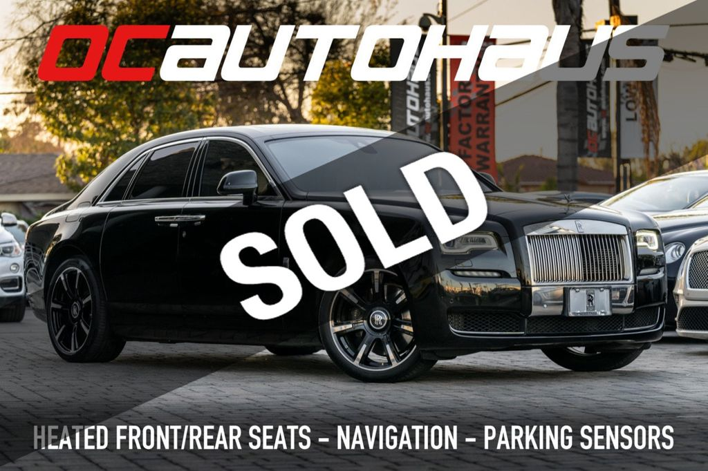 Used Rolls Royce Ghost Westminster Ca