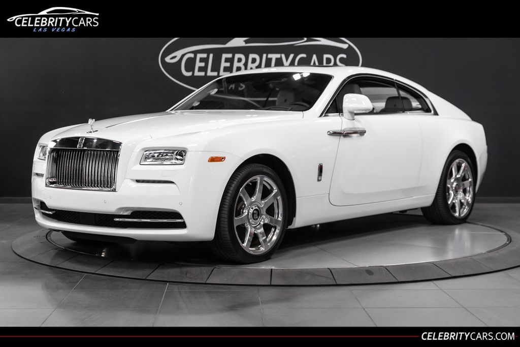 2015 used rolls-royce wraith 2dr coupe at celebrity cars las
