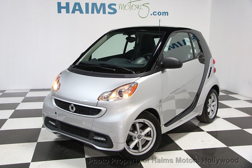 2015 used smart fortwo 2dr coupe passion at haims motors serving fort lauderdale hollywood. Black Bedroom Furniture Sets. Home Design Ideas