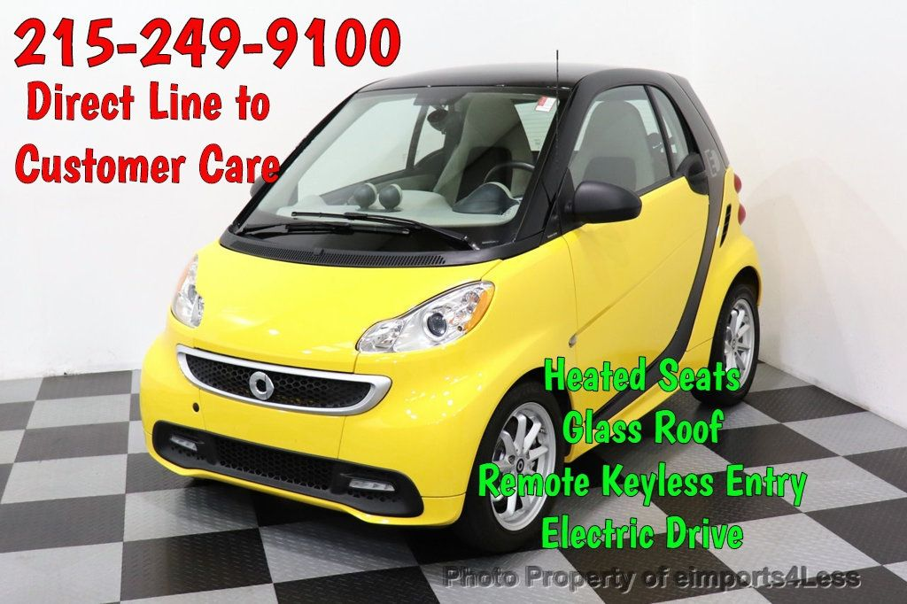 2015 smart fortwo electric drive CERTIFIED FORTWO ELECTRIC DRIVE PASSION - 18423109 - 0