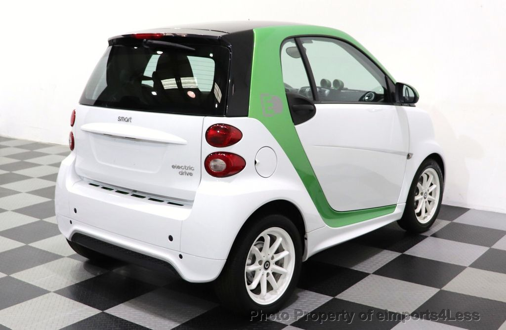 2015 smart fortwo electric drive CERTIFIED FORTWO ELECTRIC DRIVE PASSION KINETIC GREEN - 18423106 - 11