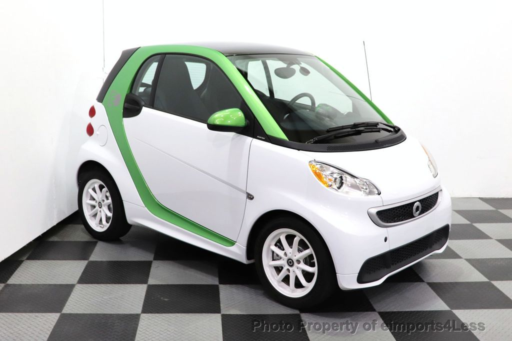 2015 smart fortwo electric drive CERTIFIED FORTWO ELECTRIC DRIVE PASSION KINETIC GREEN - 18423106 - 18