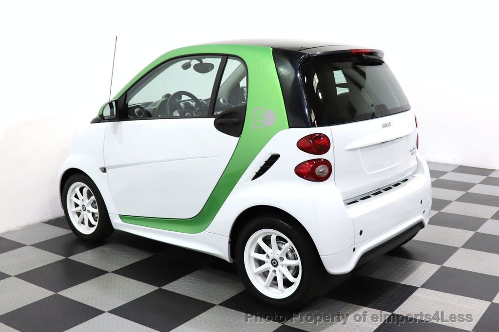 2015 smart fortwo electric drive CERTIFIED FORTWO ELECTRIC DRIVE PASSION KINETIC GREEN - 18423106 - 19