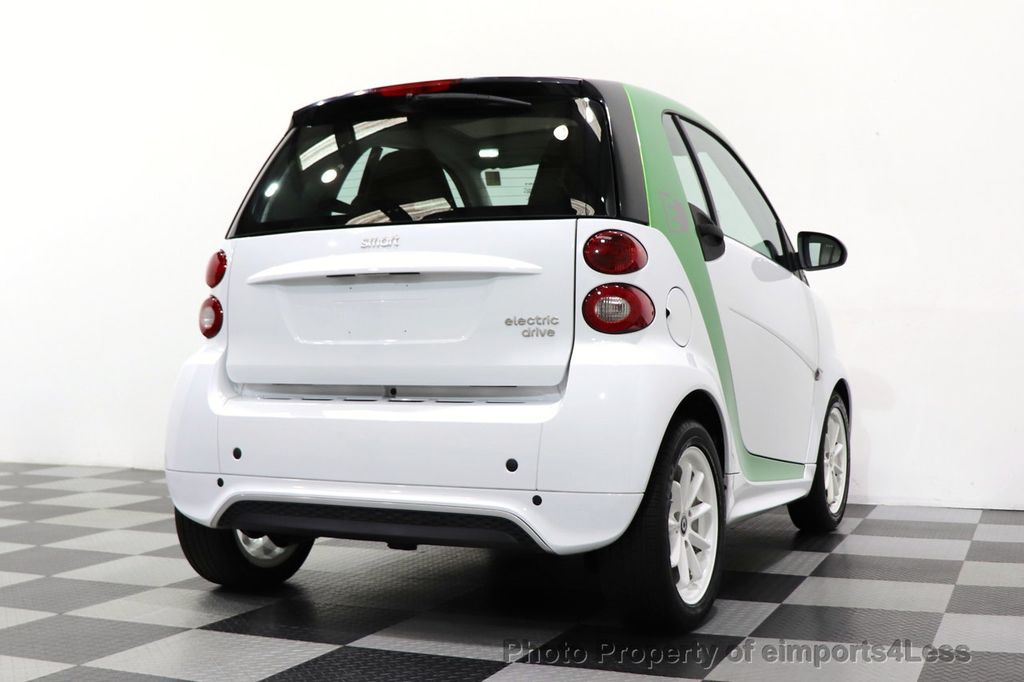 2015 smart fortwo electric drive CERTIFIED FORTWO ELECTRIC DRIVE PASSION KINETIC GREEN - 18423106 - 21