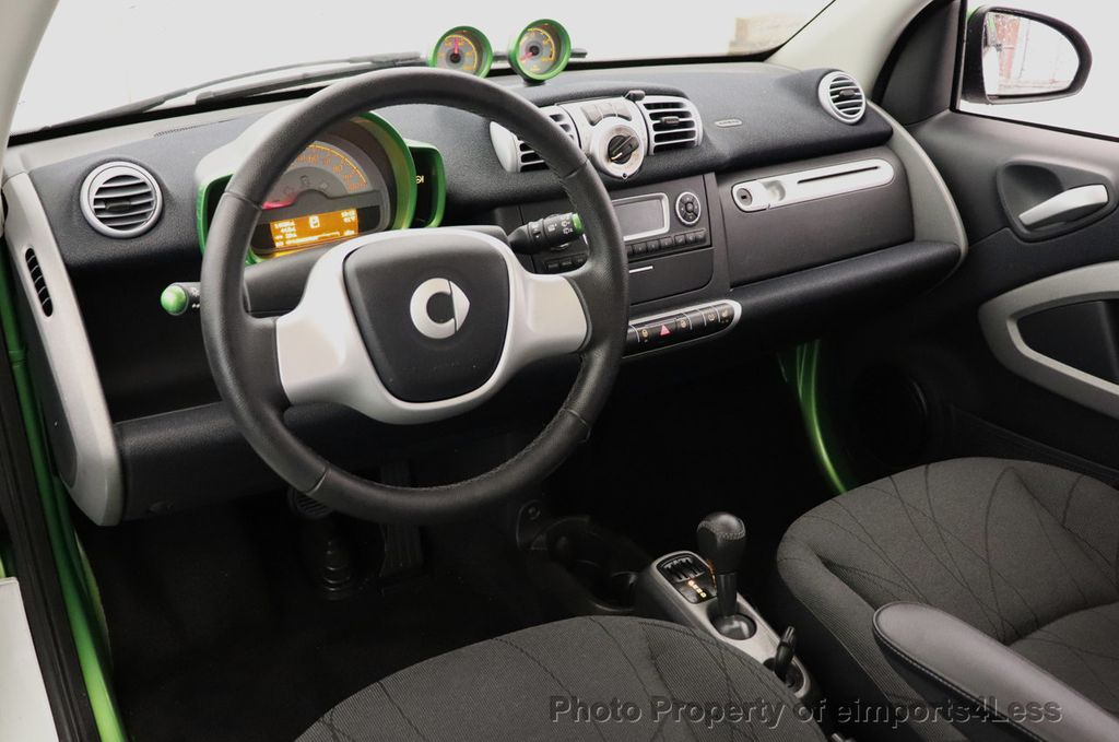 2015 smart fortwo electric drive CERTIFIED FORTWO ELECTRIC DRIVE PASSION KINETIC GREEN - 18423106 - 22