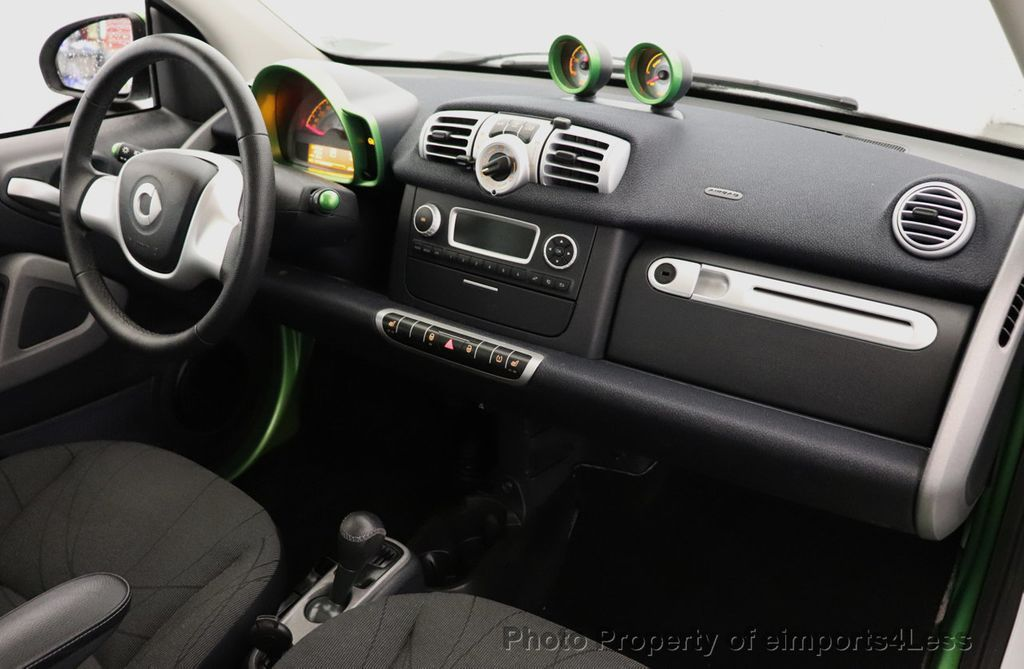 2015 smart fortwo electric drive CERTIFIED FORTWO ELECTRIC DRIVE PASSION KINETIC GREEN - 18423106 - 24