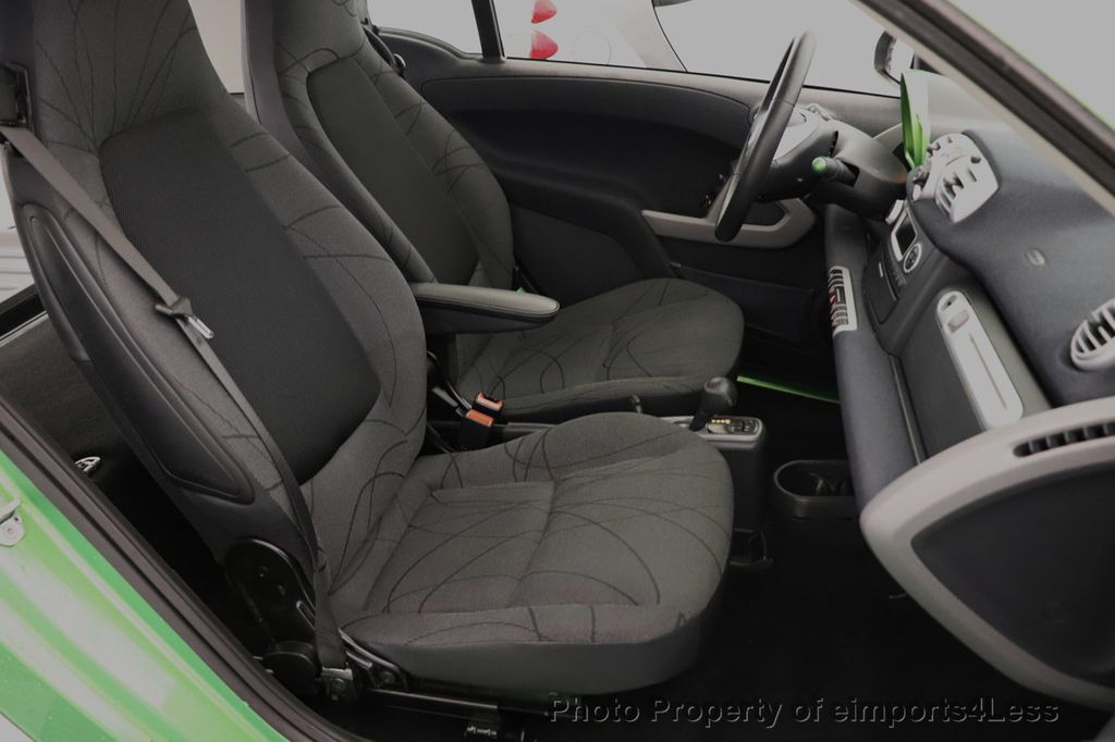 2015 smart fortwo electric drive CERTIFIED FORTWO ELECTRIC DRIVE PASSION KINETIC GREEN - 18423106 - 26