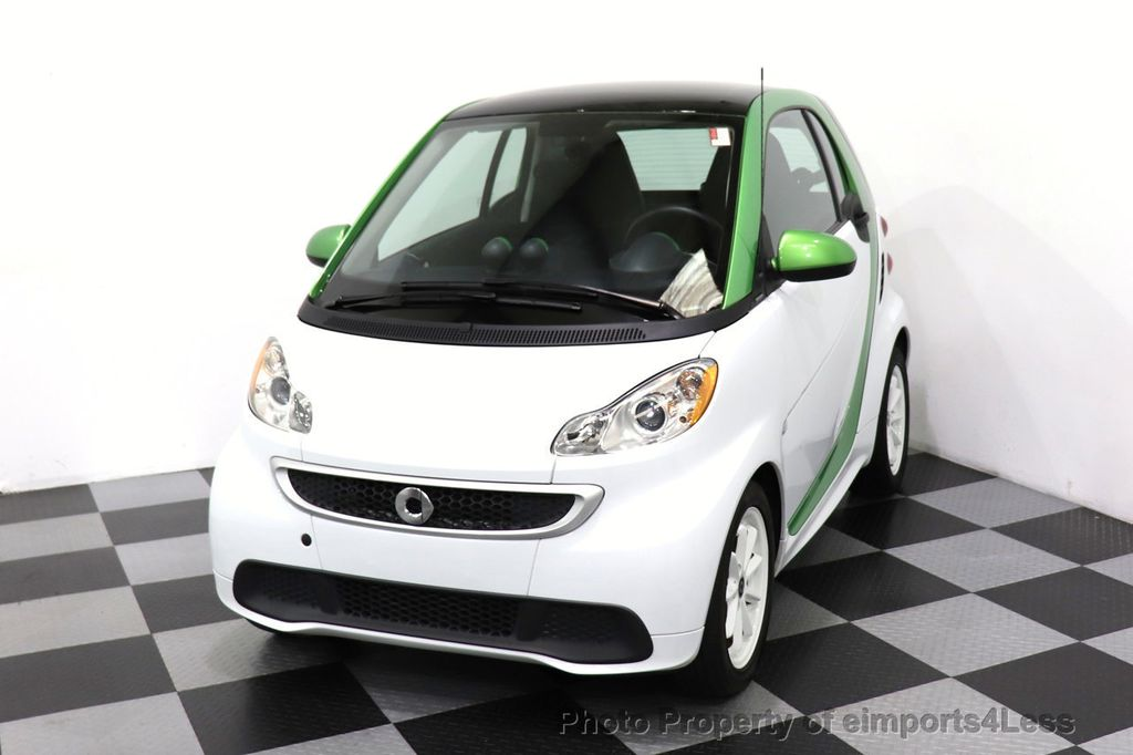 2015 smart fortwo electric drive CERTIFIED FORTWO ELECTRIC DRIVE PASSION KINETIC GREEN - 18423106 - 28