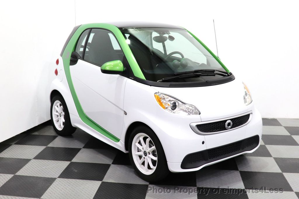2015 smart fortwo electric drive CERTIFIED FORTWO ELECTRIC DRIVE PASSION KINETIC GREEN - 18423106 - 2