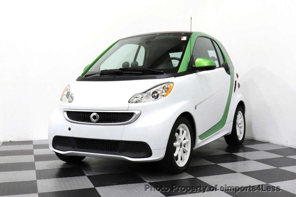 2015 smart fortwo electric drive CERTIFIED FORTWO ELECTRIC DRIVE PASSION KINETIC GREEN - 18423106 - 29