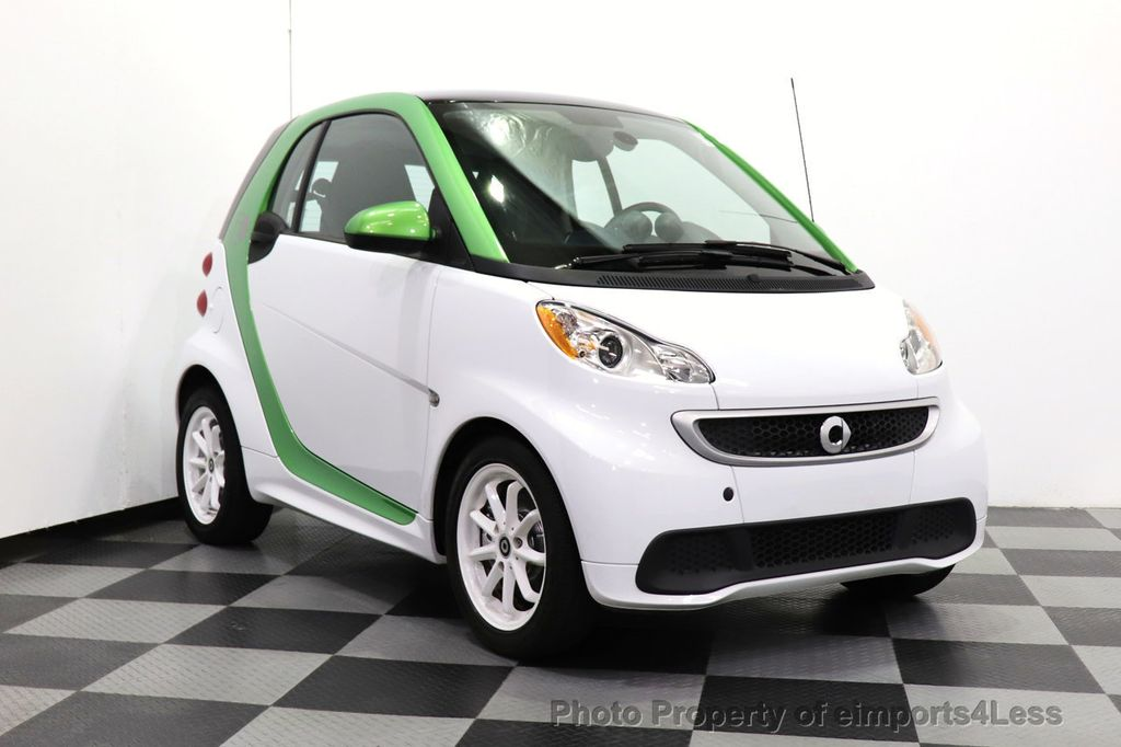 2015 smart fortwo electric drive CERTIFIED FORTWO ELECTRIC DRIVE PASSION KINETIC GREEN - 18423106 - 30
