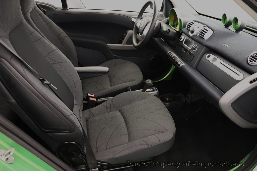 2015 smart fortwo electric drive CERTIFIED FORTWO ELECTRIC DRIVE PASSION KINETIC GREEN - 18423106 - 33