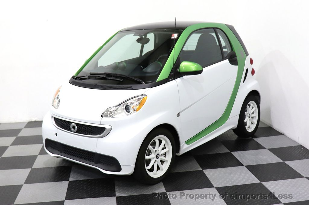 2015 smart fortwo electric drive CERTIFIED FORTWO ELECTRIC DRIVE PASSION KINETIC GREEN - 18423106 - 34